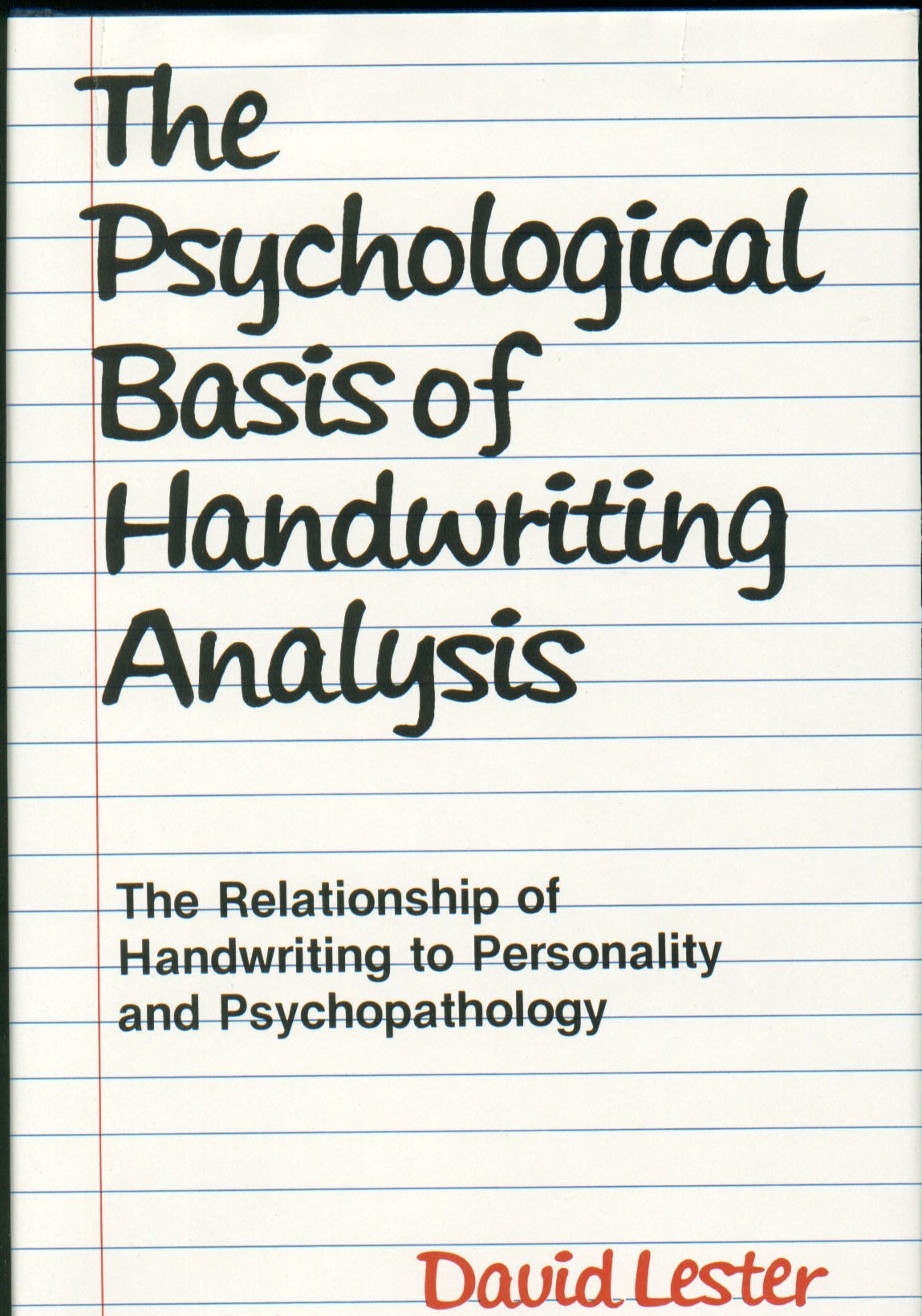 Handwriting Analysis Books